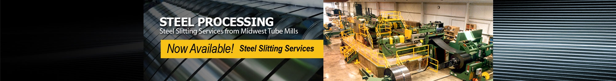 Slitting Services Header Image